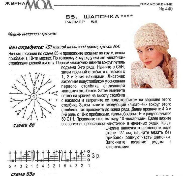 Схемы вязания осень зима