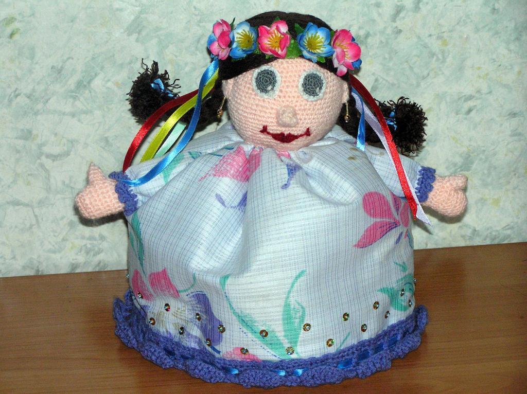 Кукла на чайник | Вязание и рукоделие