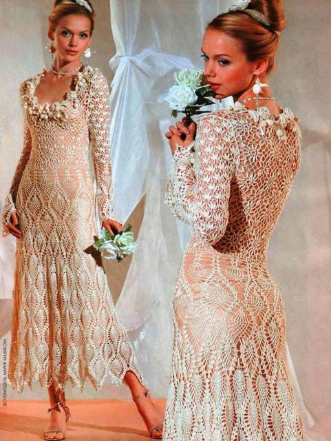 Фото ажурных платьев и