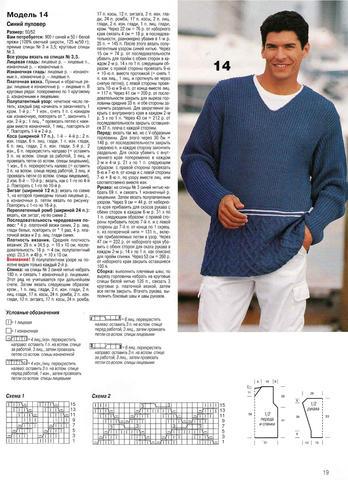 Обучение вязания свитера