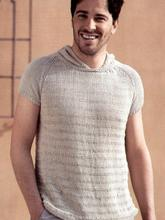 вязаные мужские футболки майки вязание и рукоделие